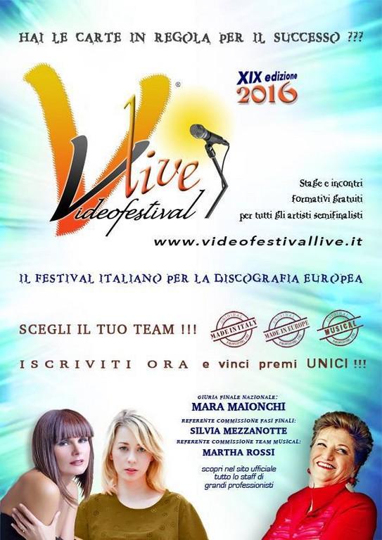 videofestival live perugia